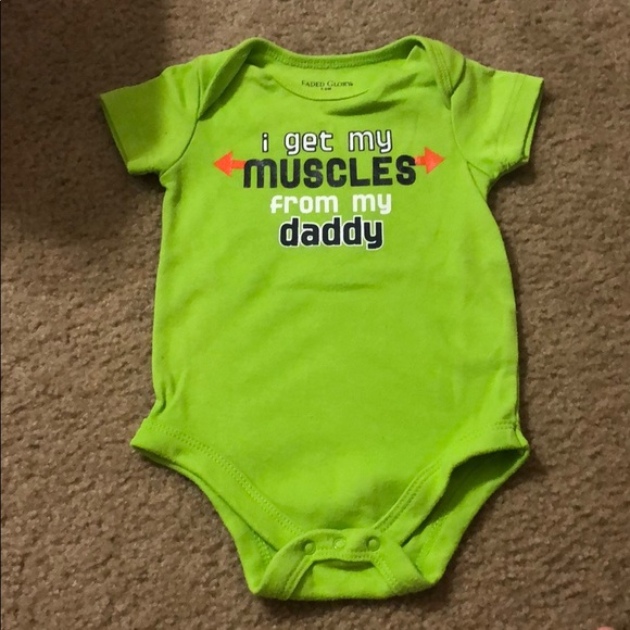 Faded Glory onesie Green 4 for $12